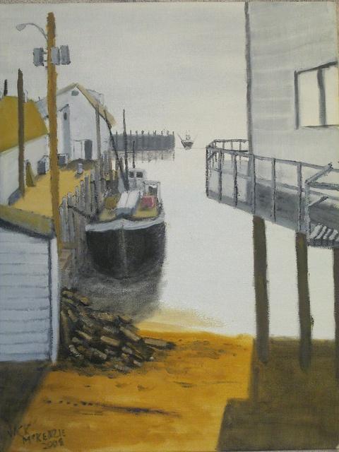 Scallop Boat - Digby Nova Scotia. Please visit my blog at www.landscapesbyjack.blogspot.com