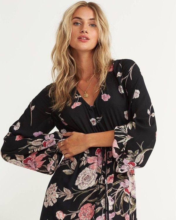 cdd6b44c32a Desi Kimono Maxi Dress in 2019