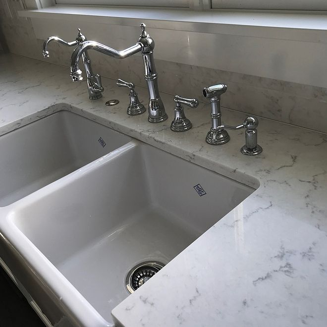 Kitchen Faucets The Plumbing Fixtures From Left To Right Are A