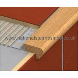 Wood Stair Nosing Step Edging For Tiles,Stone,Wood