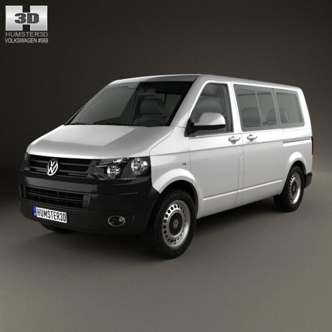 Volkswagen Transporter Kombi 2010 on @graphicsmag