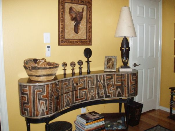african decorating ideas african artifacts and a