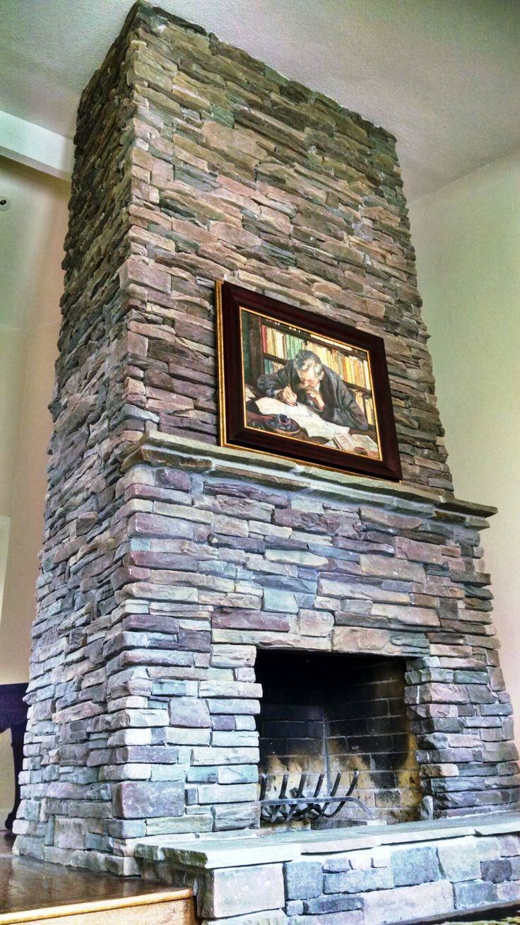 11 best Dry stack stone images on Pinterest | Fireplace pictures ...