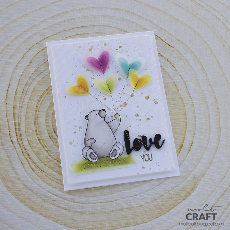 MOLT CRAFT + SAN VALENTIN + LOVE + TARJETAS