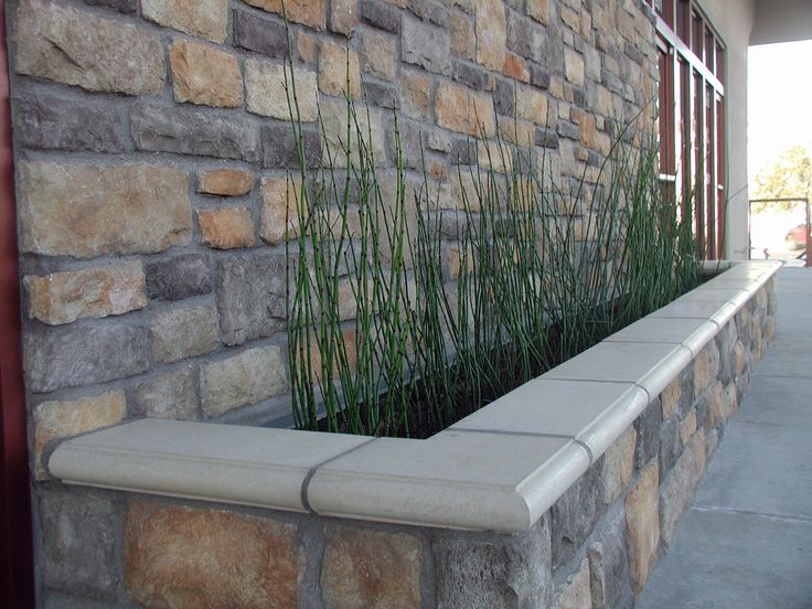 Retaining Wall Planter Idea Landscape This Pinterest