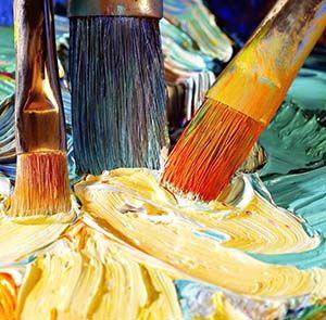 Lavado y cuidado de los pinceles que usamos para pintar al óleo