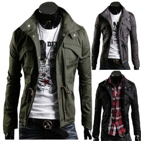 The 25  best Mens military style jacket ideas on Pinterest ...