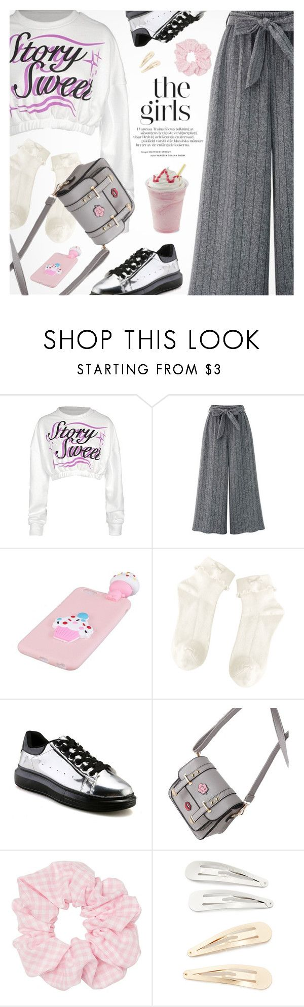 """""""Street Style"""" by pokadoll ❤ liked on Polyvore featuring Kitsch"""