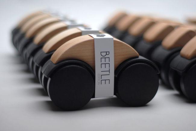 OTTO: diseño, reciclaje y UpCycling en carritos de juguete