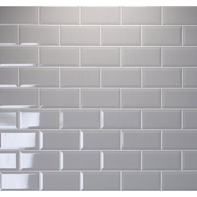Metro Brick Gloss Grey Ash 10cm X 20cm Wall Tile Brick Tiles Bathroom Grey Kitchen Tiles Grey Wall Tiles