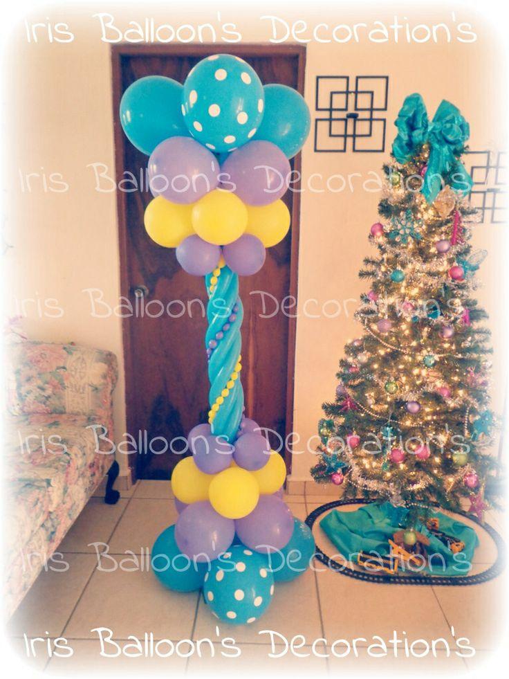 10 best decoraciones con globos hechos por iris - Decoraciones con globos ...