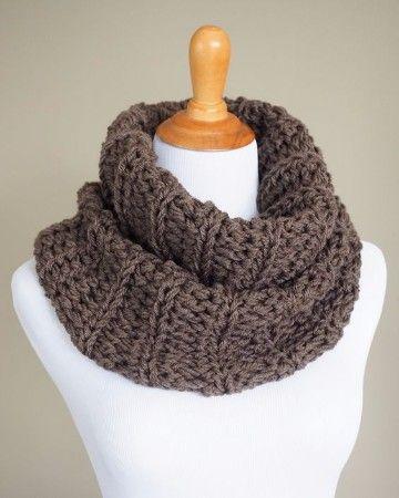 como hacer bufandas en crochet para hombres