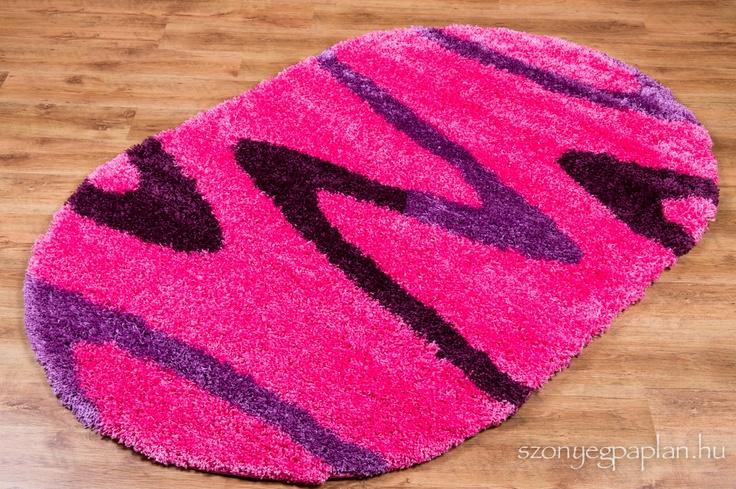 Shaggy pink szőnyeg