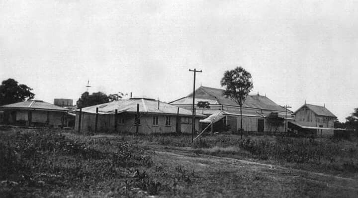 Darwin Hospital at Emery Point in the morning 1920s.