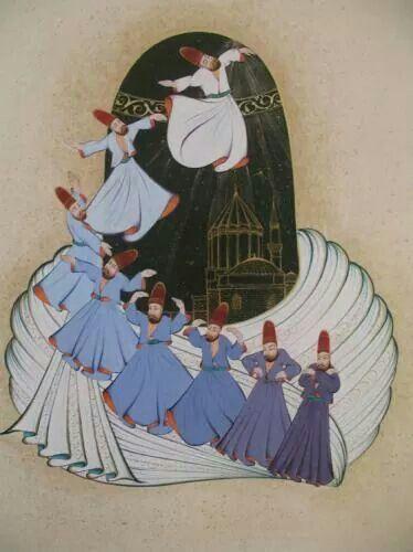 .Sufi Dancing