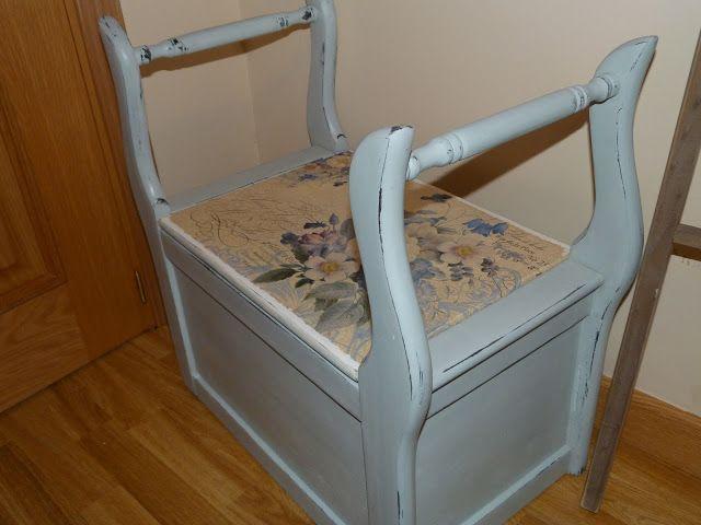 M s de 1000 ideas sobre muebles con efecto envejecido en for Banco arcon madera