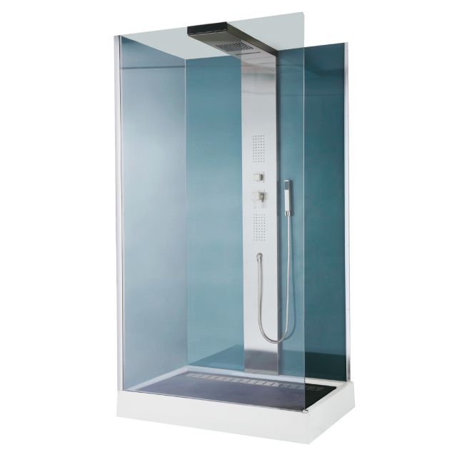 cabine de douche hydromassante welle chez castorama prix. Black Bedroom Furniture Sets. Home Design Ideas