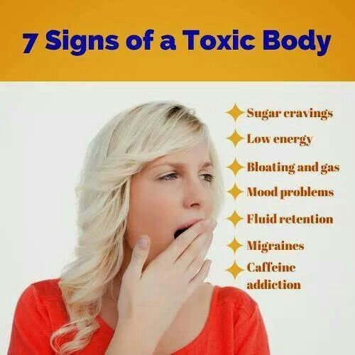 7 Signs Of A Toxic Body