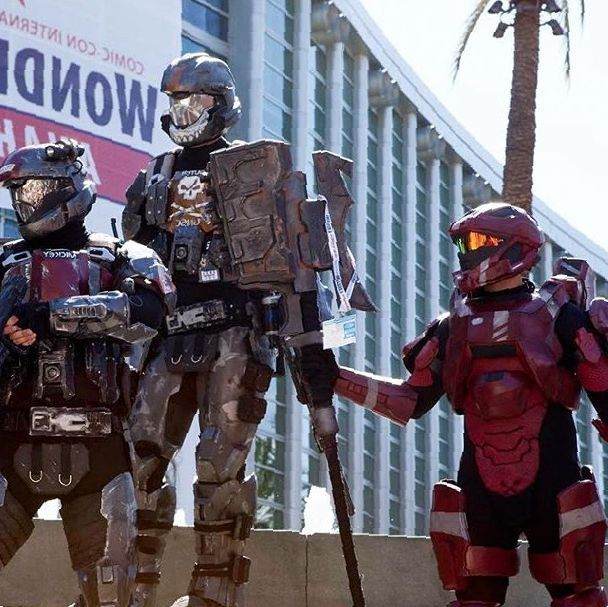 Red team best team  *Cough @spacemeat_cosplay * - #odst