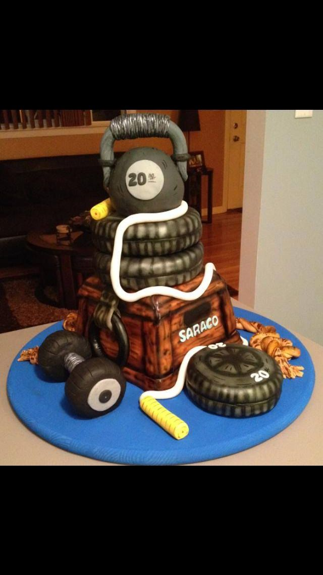 Crossfit cake | Graduation | Pinterest - 62.6KB