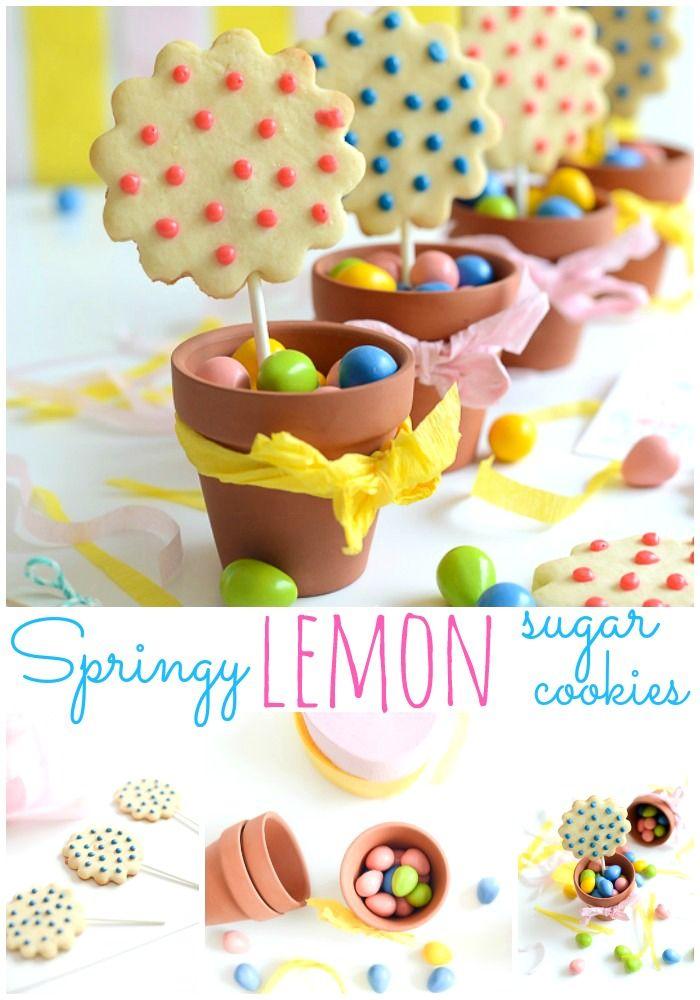 Springy Lemon Sugar Cookies  - Place Of My Taste