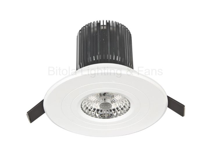 Luxor 13w LED Fixed Downlight Flat Profile COB Dimmable Brilliant 18021 18023, $39.00