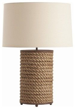 Area 2 | Vern Rusted Iron/Jute Rope Wrapped Lamps for bar x2 edge with pine cone garland