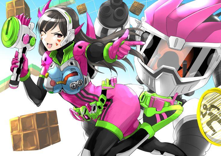 D.va as Ex-Aid | Kamen Rider | Know Your Meme