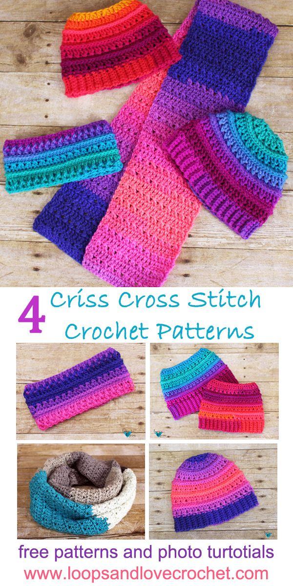 Criss Cross Stitch Crochet Patterns Paulas Board Crochet