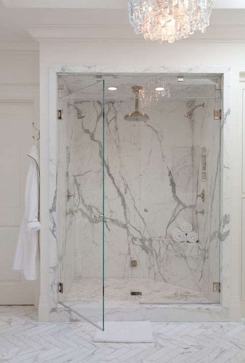 Marie Christine Design Bathrooms Gray And White Marble Marble Veining Marble Clad