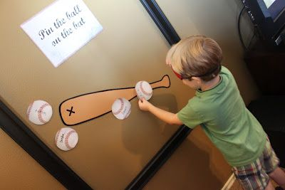 Creatively Purposed: Brayden's Baseball Birthday Party