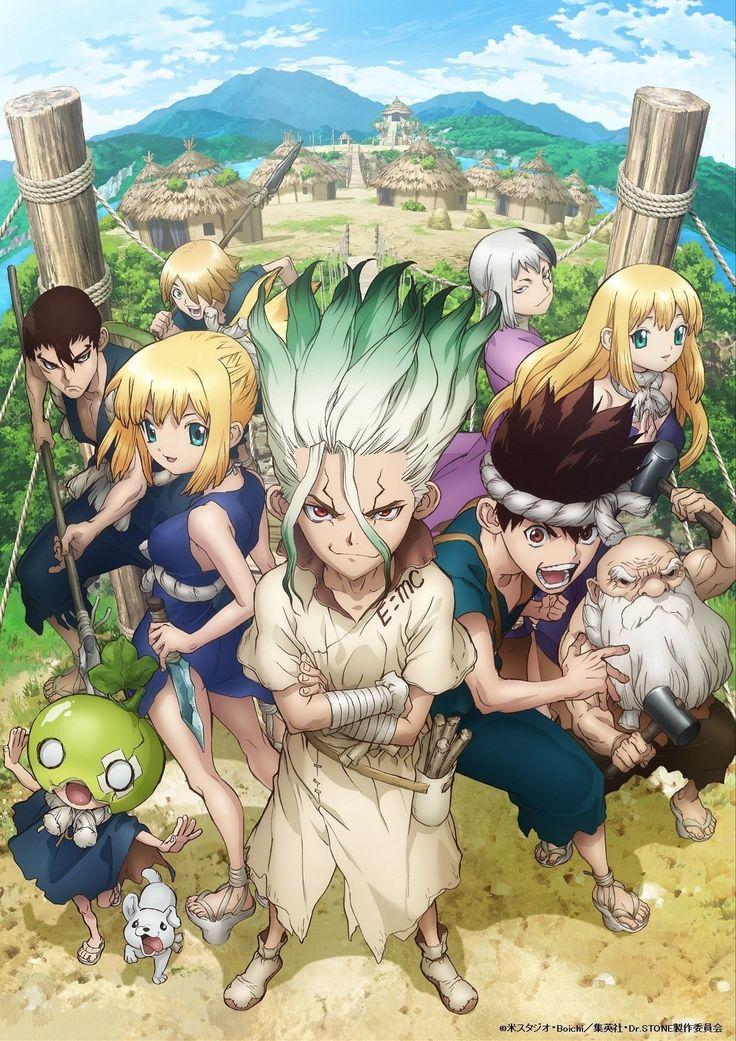Pin de Yosilu Verona en Dr. Stone Wallpaper de anime