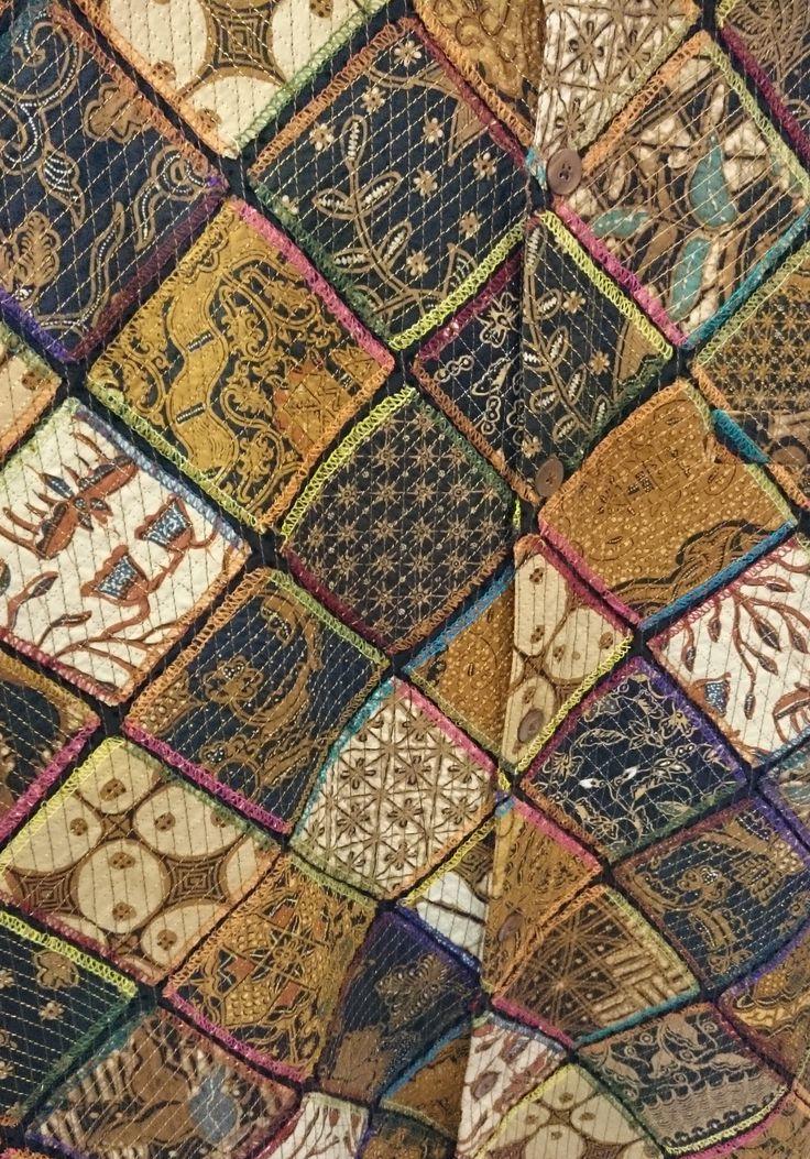 Quilted Lawasan Batik Shirt