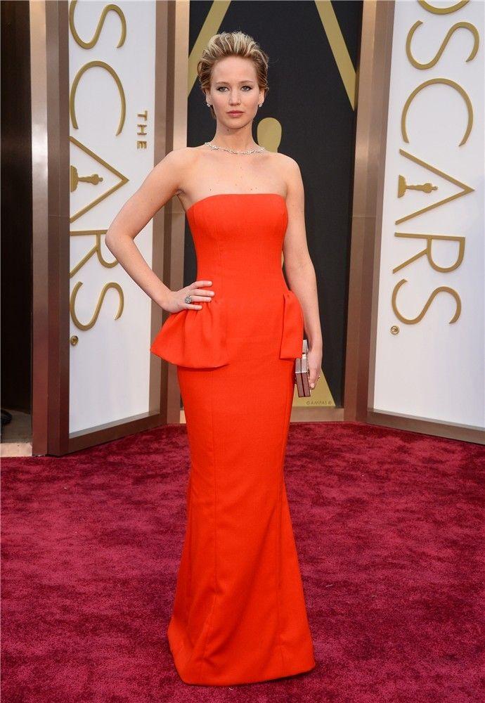 Premios Oscar 2014: Jennifer Lawrence, de Dior