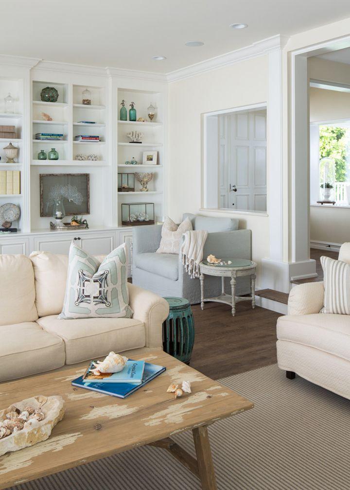 Coastal Living Room By Kelly Ferm Inc