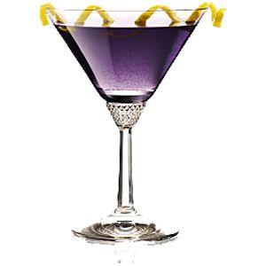 Aviation Cocktail. Creme de Violette - Maraschino Liquor - Gin -  lemon. #AviationCocktail