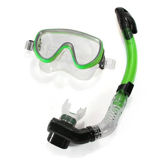 PVC Diving Swimming Goggles Mask Glasses Dry Snorkel Set  Worldwide delivery. Original best quality product for 70% of it's real price. Buying this product is extra profitable, because we have good production source. 1 day products dispatch from warehouse. Fast & reliable shipment...