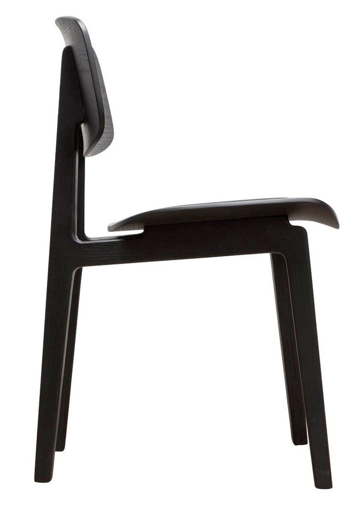 NORR11 krzesło skandynawskie, wykonane z drewna dębowego. Dostępne.