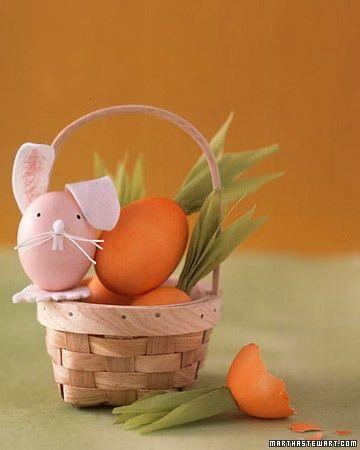 minha casa, meu mundo: Easter Crafts, Easter Bunnies, Kids Crafts, Martha Stewart, Easter Eggs, Eggs Crafts, Carrots Eggs, Eggs Decor, Easter Ideas