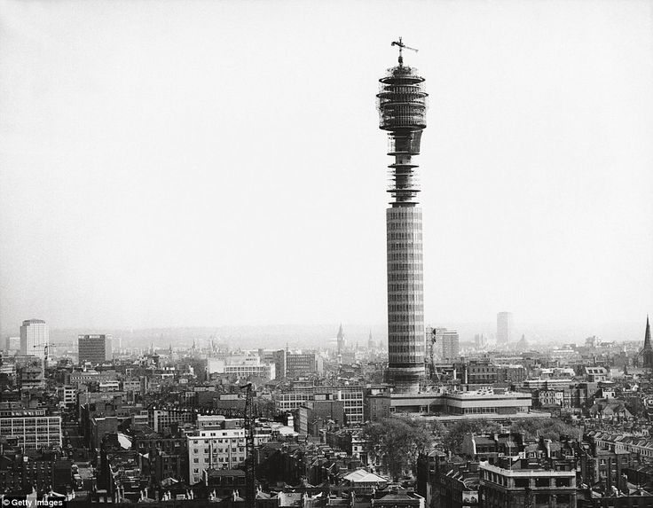 The BT Tower, then known as the Post Office Tower, was the tallest building in Britain when it was completed on July 15, 1964.