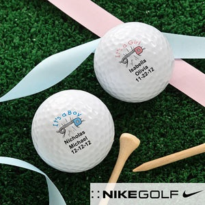 New Baby© Personalized Golf Ball Set - Nike Mojo® Extremely Long