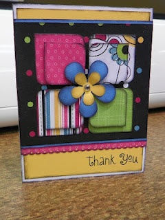 Thank You card by Misty Rushlow: Cards Ideas Sites, Crafts Cards, Color, Thank You Cards, Card Ideas, Acetate Cards, Mistyical Creations, Paper Crafts, Cards Thank