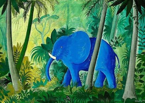 Hans Scherfig - Elephant in the Jungle, 1947