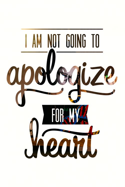 I am NOT going to APOLIGIZE for my HEART. Another great one from Orphan Black