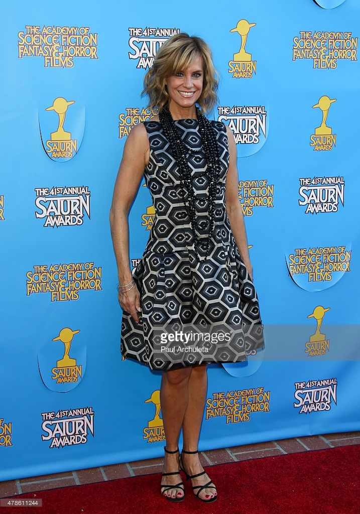 Actress Catherine Mary Stewart attends the 41st annual Saturn Awards at The Castaway on June 25, 2015 in Burbank, California.