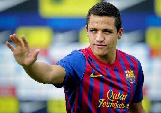 Alexis Sanchez, he's reaching out for me...