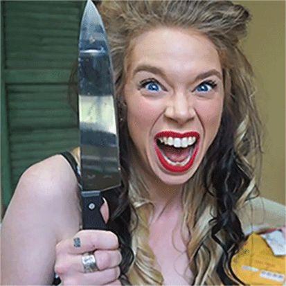 My favorite Youtube personality https://www.youtube.com/user/grav3yardgirl