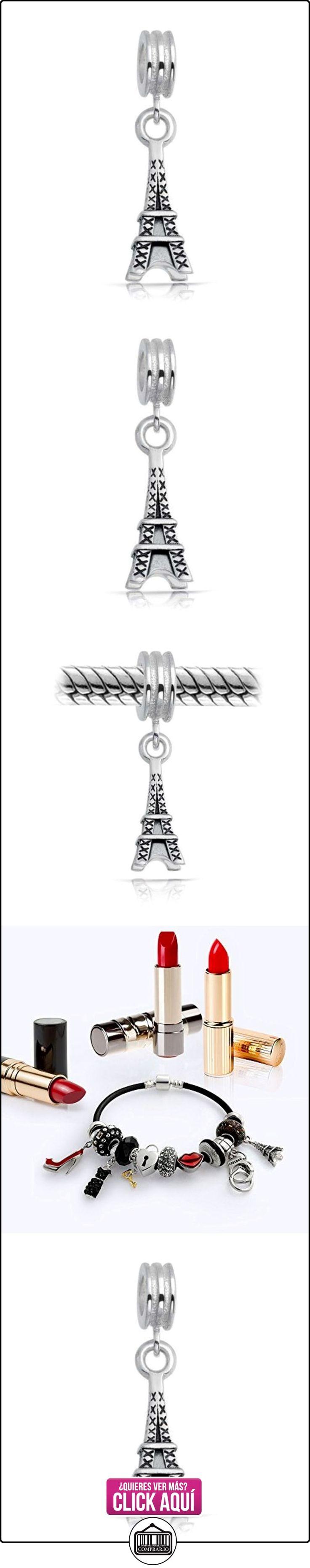 Bling Jewelry 925 Plata Antigua Torre Eiffel Cuelgue Abalorio  ✿ Joyas para mujer - Las mejores ofertas ✿ ▬► Ver oferta: https://comprar.io/goto/B00805Z8R2
