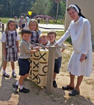 Sr. Barbara and children