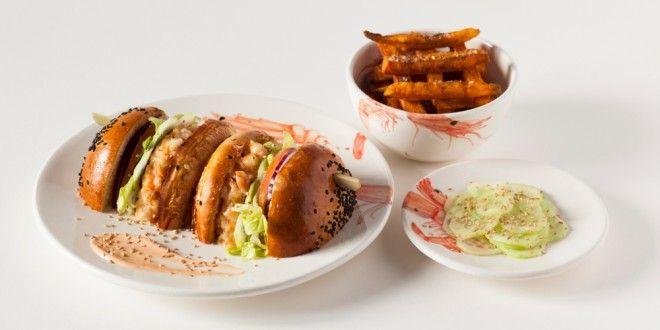 izakaya home burger bar hamburguesa gourmet langostinos